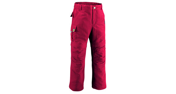 Vaude Kid's Detective ZO Pants red